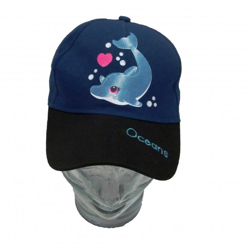 Gorra Delfín Infantil Oceanogràfic