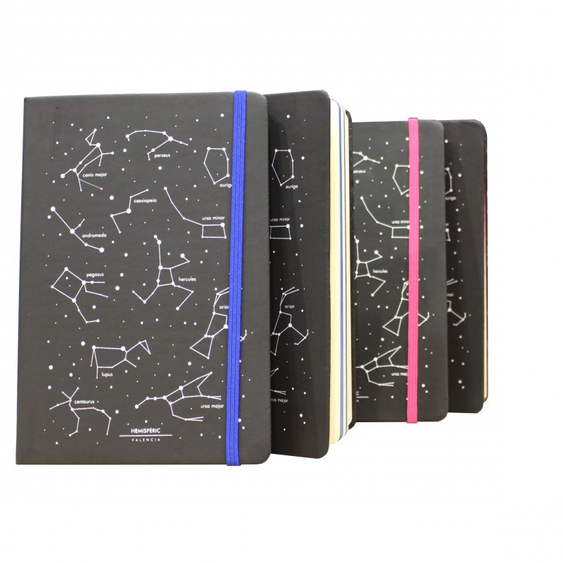 Block de Notas Constelaciones A5