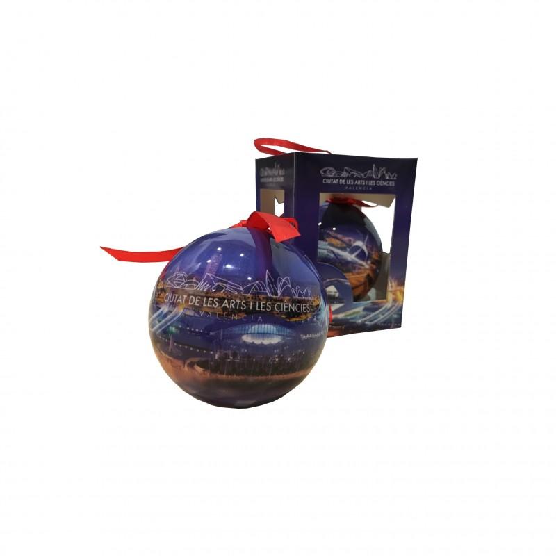 Bola Decorativa Navidad Foto Panorámica
