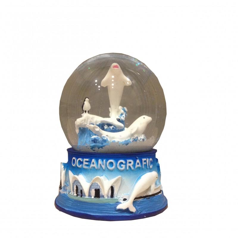 Bola de nieve Beluga Oceanogràfic