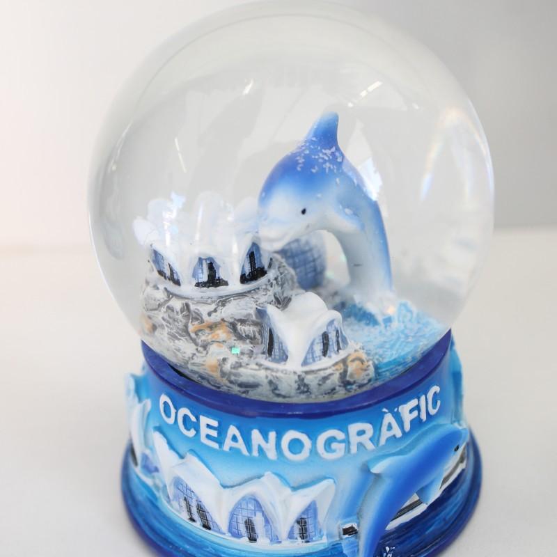 Bola de nieve Delfín Oceanogràfic
