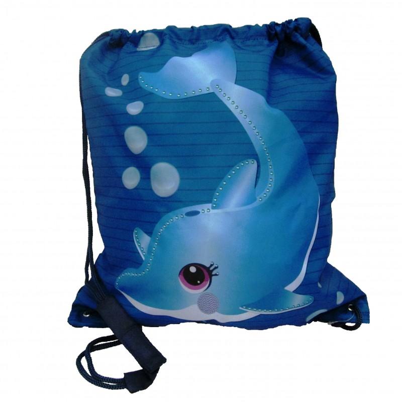 Bolsa Mochila Delfín Infantil Oceanogràfic