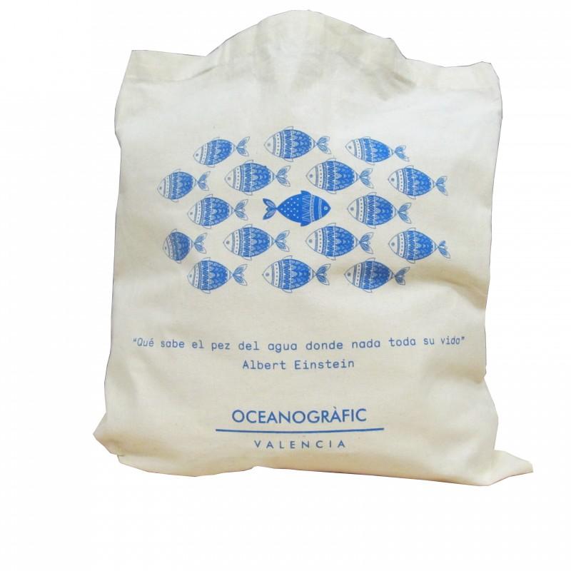 Bolsa Loneta Peces Oceanogràfic