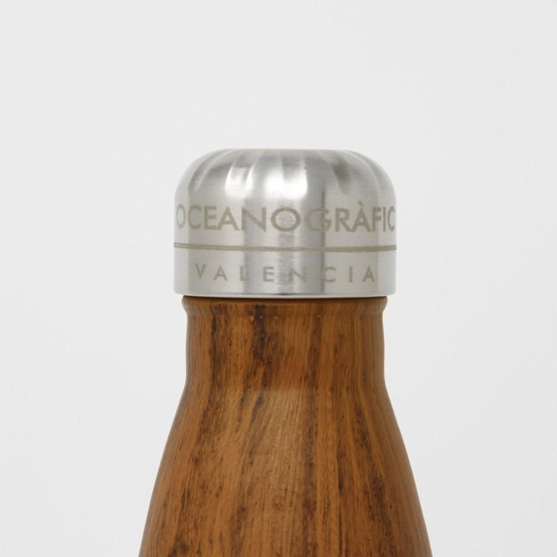 Botella Inox. Madera Oceanogràfic