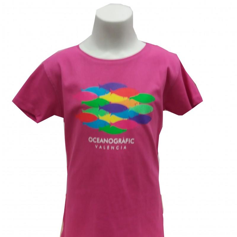 Camiseta infantil peces