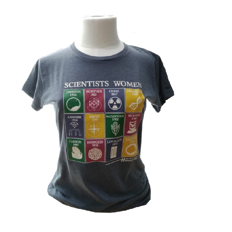 Camiseta Mujer Scientists Women