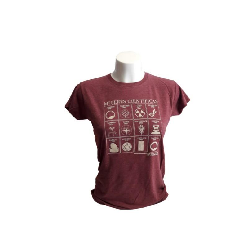 Camiseta Mujer Mujeres Científicas