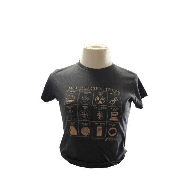 Camiseta Mujer Mujeres Científicas Vigore