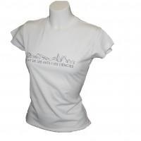 Camiseta Mujer Skyline Blanco