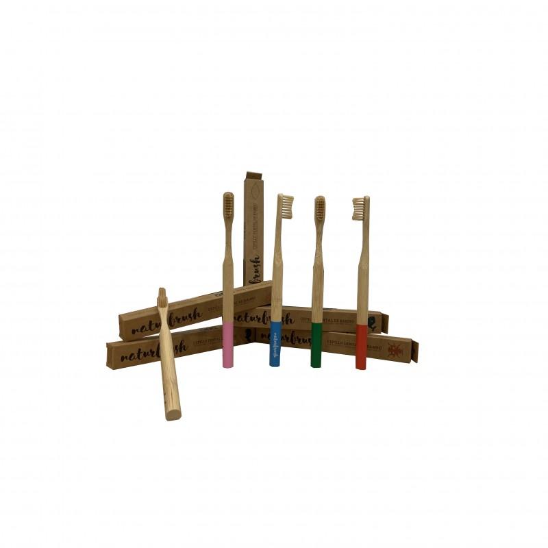 Cepillo de Dientes Adulto Bambú