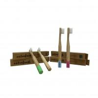 Cepillo de Dientes Niño Bambú