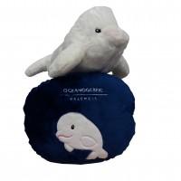 Cojín Beluga Reversible