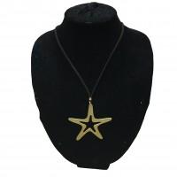 Colgante Estrella Oro Largo