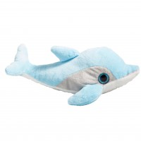 Delfín Azul Ojos Brillantes 27 cm