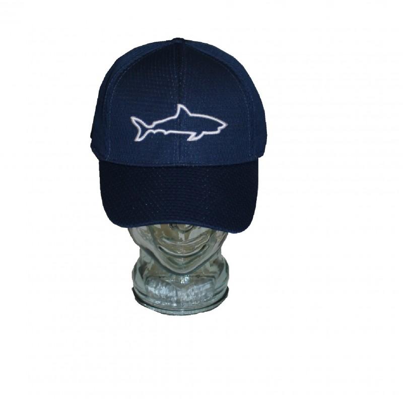 Gorra Adulto Tiburón Azul