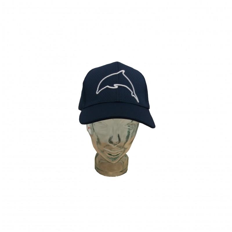 Gorra Malla Delfín Azul Marino