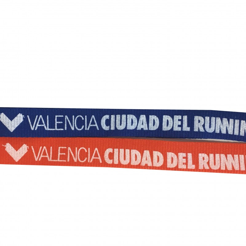 Lanyard Colores Valencia Running