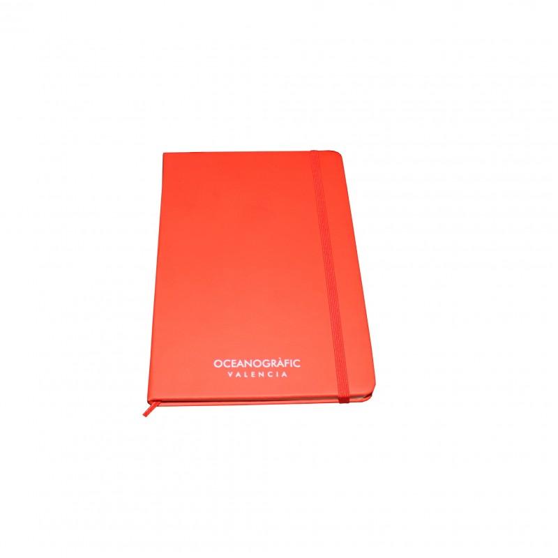 Libreta Oceanogràfic A5 Roja