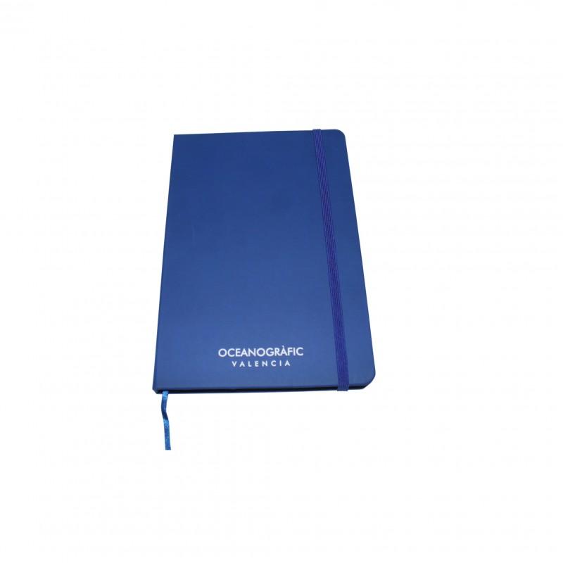 Libreta Oceanogràfic A6 Azul