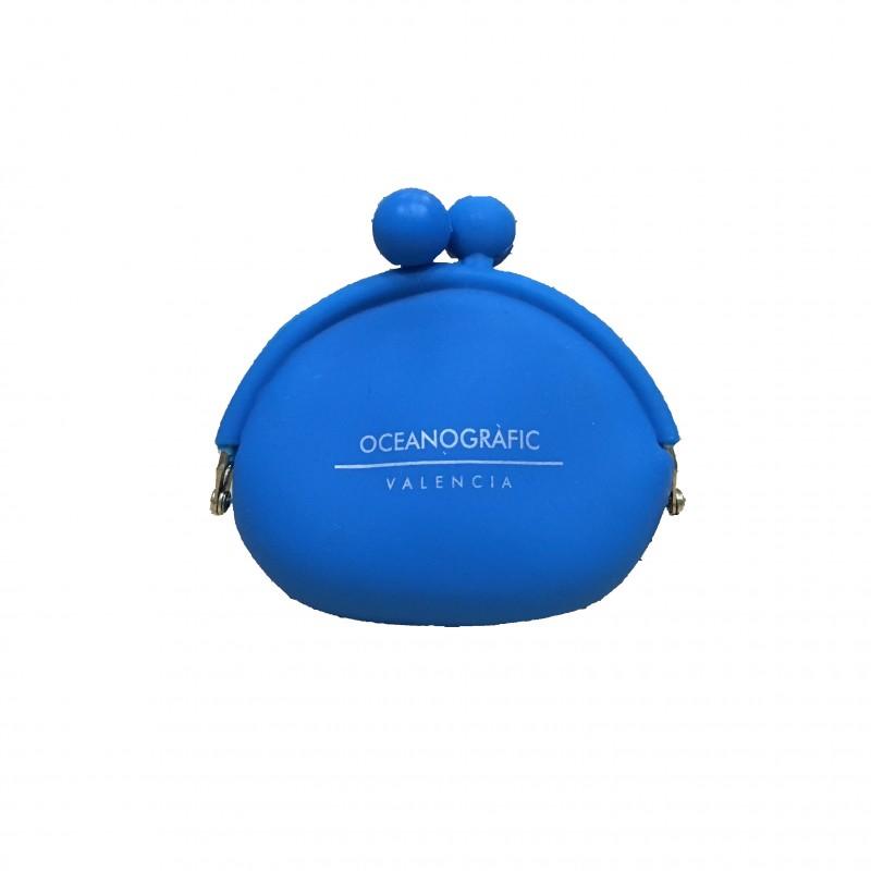 Monedero Clip Azul Ocenogràfic