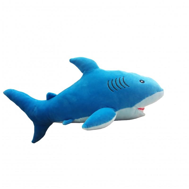 Peluche Tiburón Azul