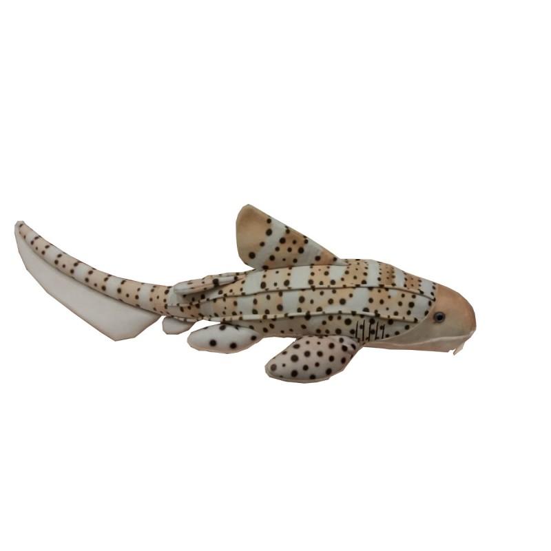 Peluche Tiburón Cebra 65 Cm.