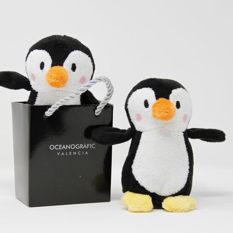 Pingüino en Bolsa Oceanogràfic