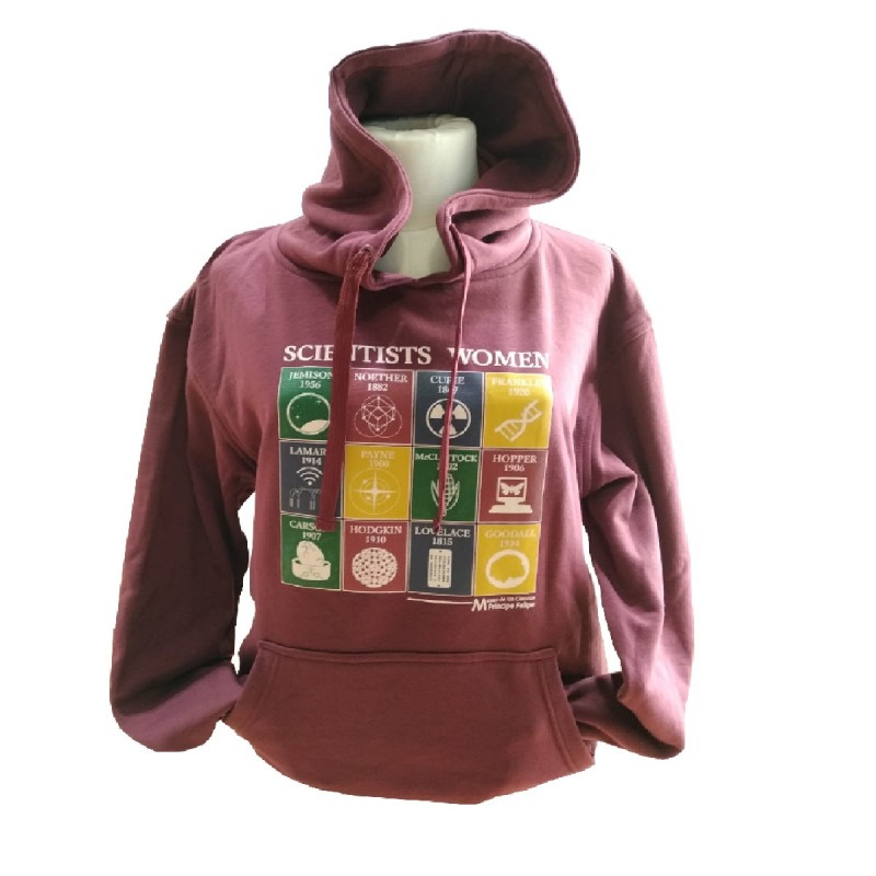 Sudadera Mujer Scientists Women