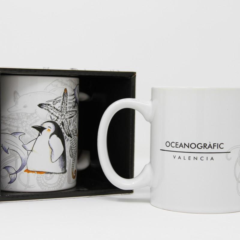 Taza 5 Animales Oceanogràfic