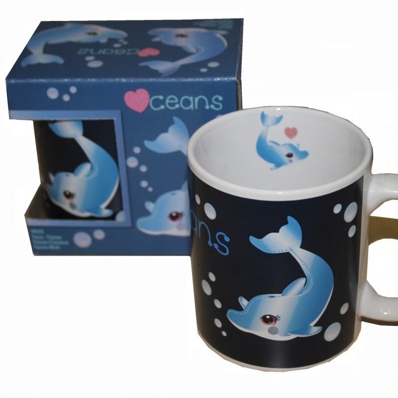 Taza Delfín Infantil Oceanogràfic