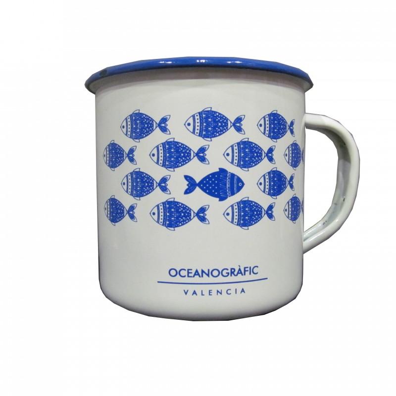 Taza Peltre Oceanogràfic