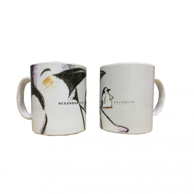 Taza Pingüino Oceanogràfic