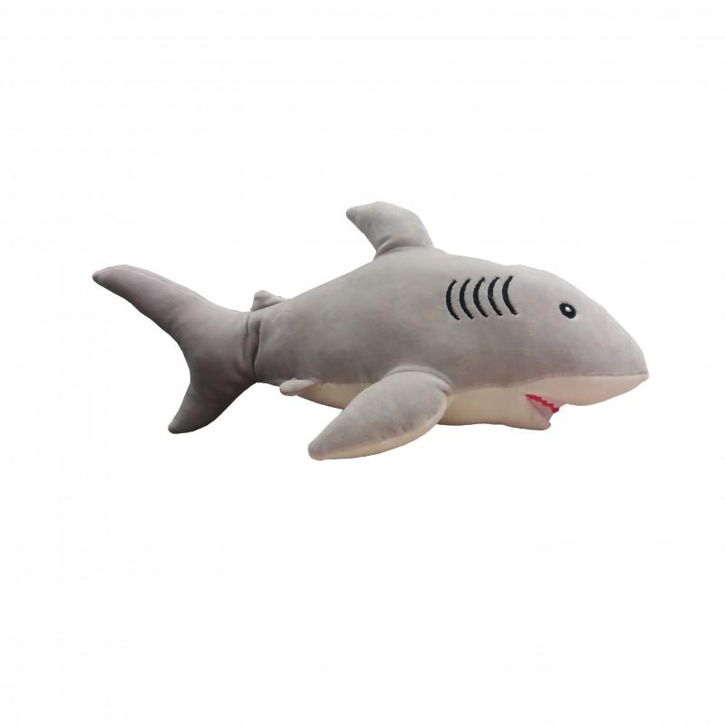 Peluche Tiburón Gris