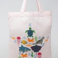 Tote bag infantil animales marinos