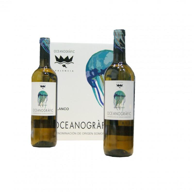 Vino Blanco Somontano Oceanogràfic