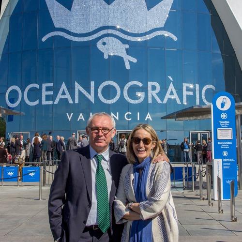 Inauguraci n del nuevo oceanogr fic oceanografic for Precio oceanografic valencia 2016